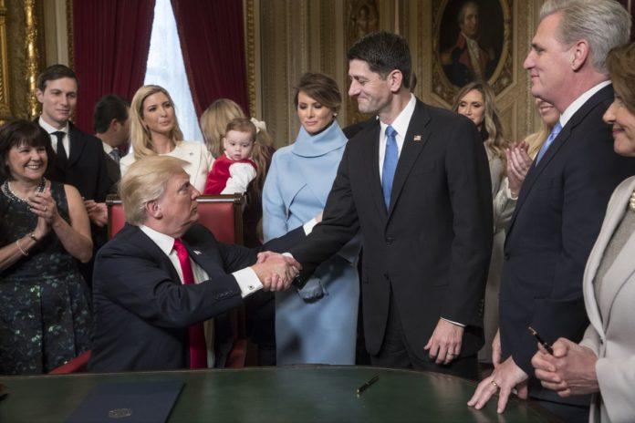 , Paul Rayan and Trump Fight Again?