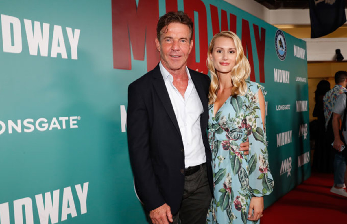 Exclusive: Dennis Quaid engaged with just 26-year-old Laura Savoie