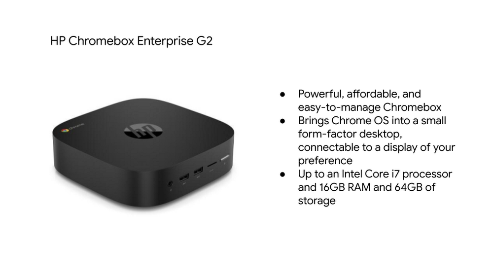 , HP Announced Enterprise-Focused New Chrome OS Devices: Details inside