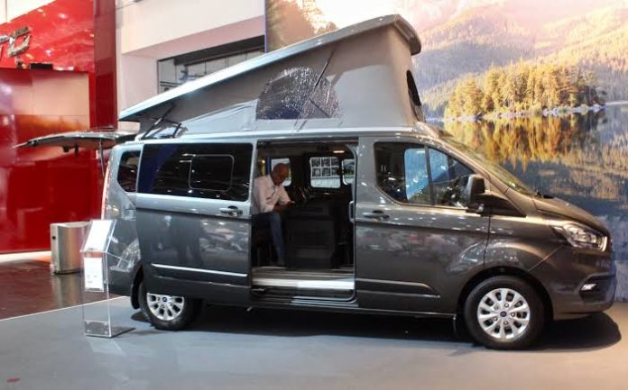 , Wellhouse Ford Transit Giant 4WD camper van goes big and bold