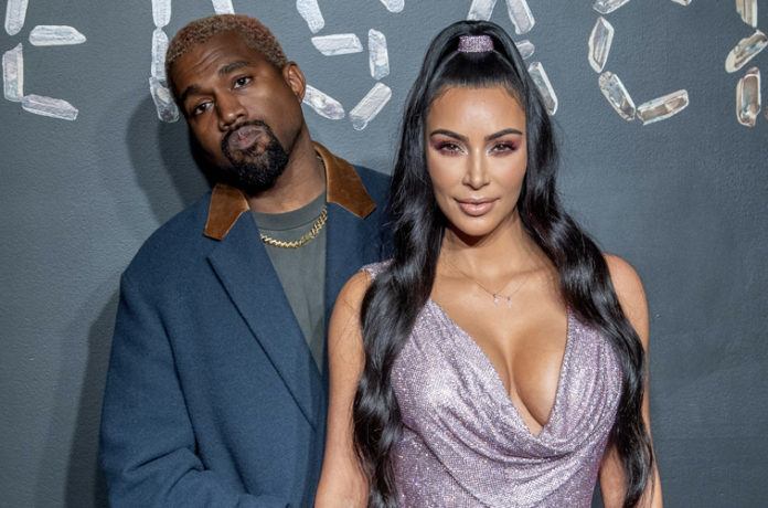 , Kim Kardashian Fans React to Steamy Photo of Her Kissing Kanye West