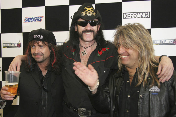 , Rock and Roll Hall of Fame Add Phil Campbell + Mikkey Dee to Motorhead Nomination