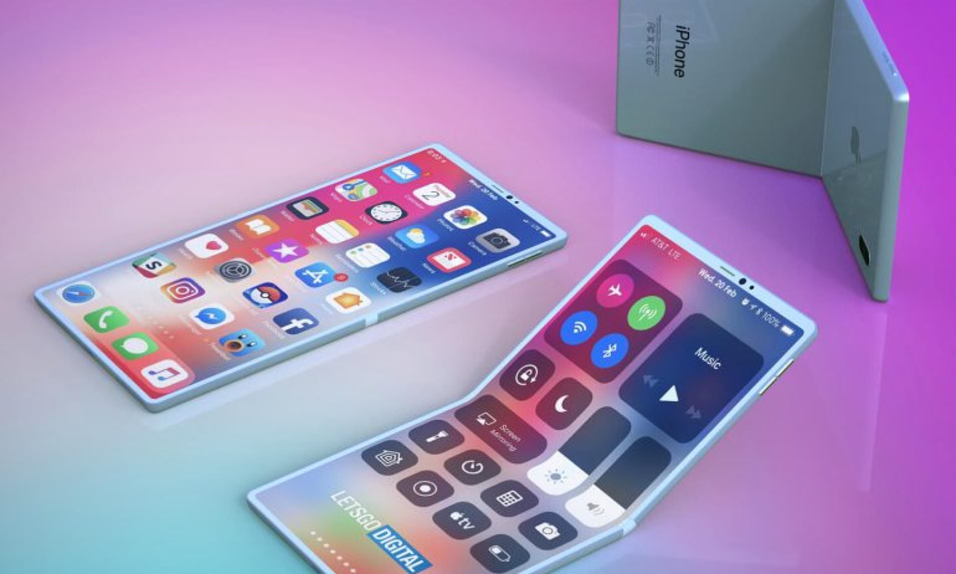 Revealed: Apple's New Patent  For New Foldable iPhone