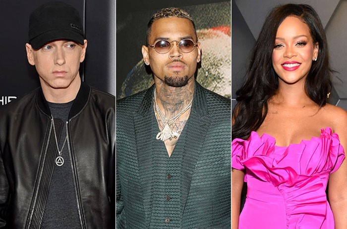 , Lyric revealed The Truth Behind That 'Eminem Disses Rihanna, Sides With Chris Brown'