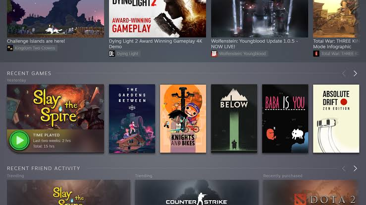 New Update Steam's Big Library Is Now Available for Everyone