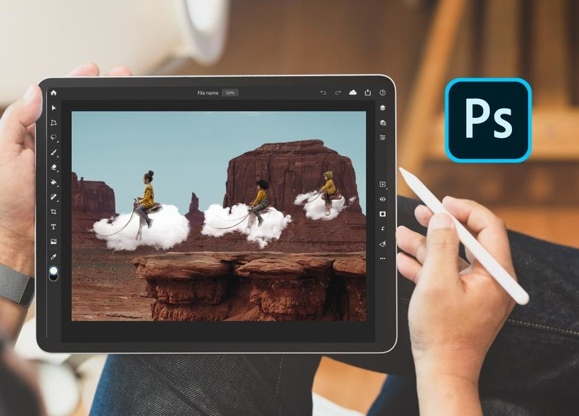 , iPad'S Photoshop is Now available in the App Store