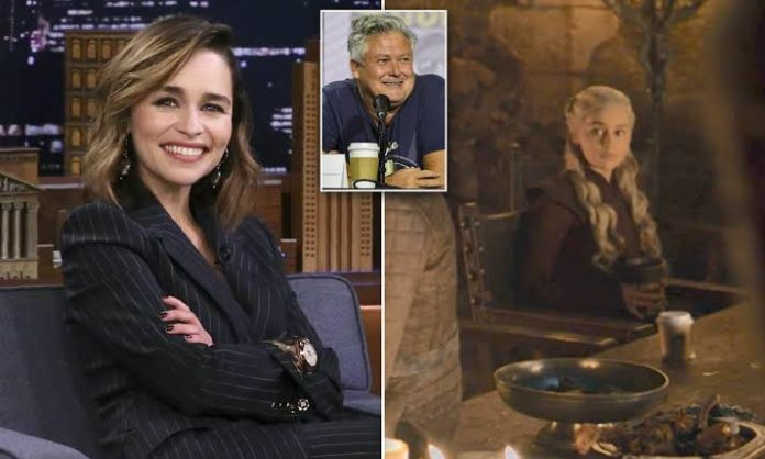 Emilia Clarke Unveils the Real Culprit of 'Game of Thrones' Coffee Cup