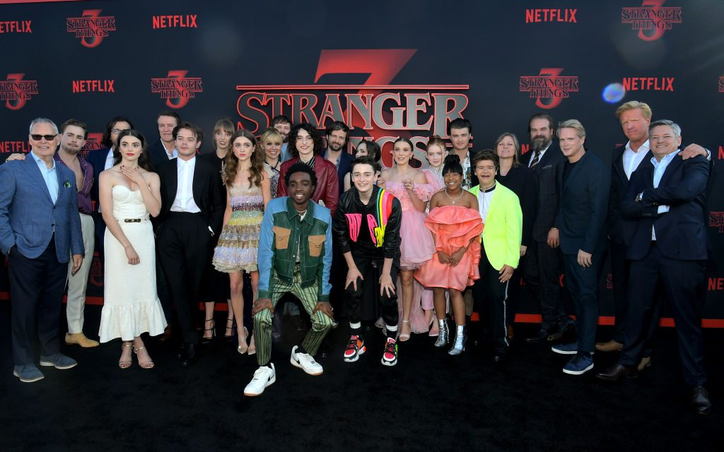 When is Stranger Things 4 out on Netflix? Who is in the cast?