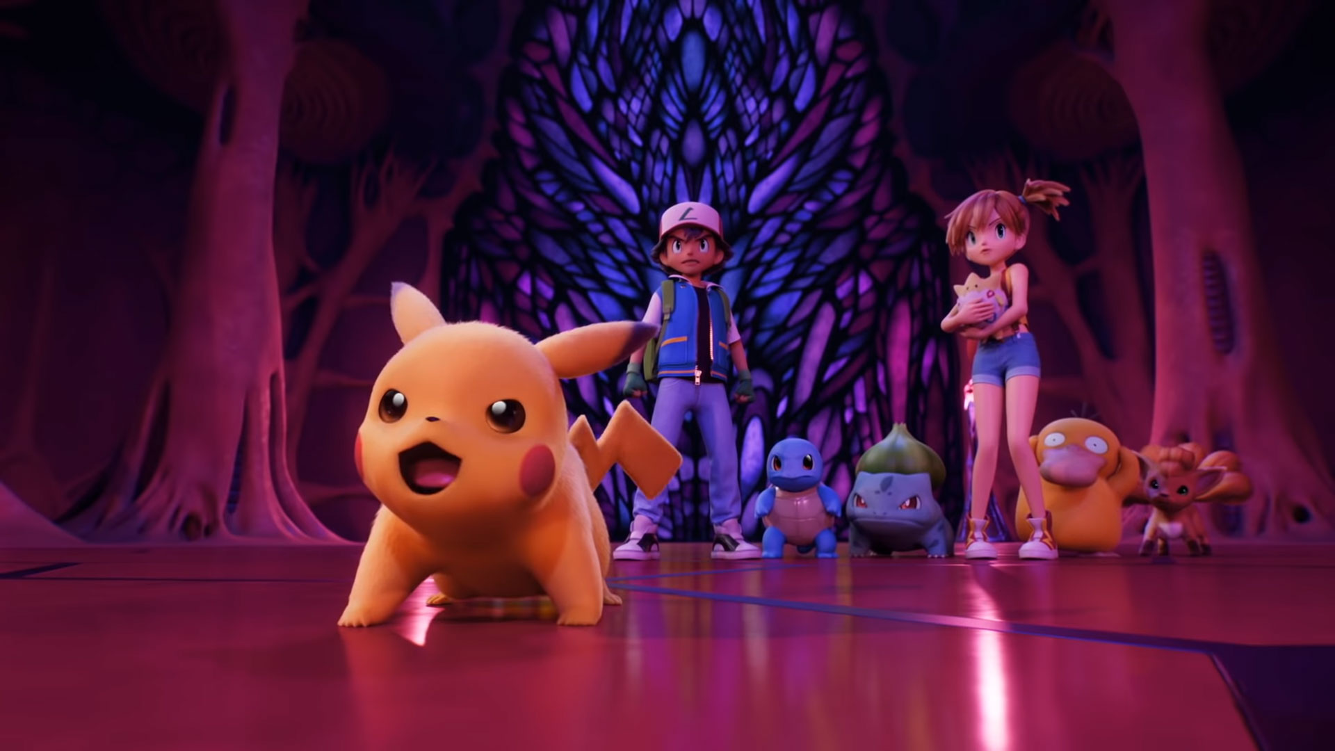 Pokemon(CG remake) : Mewtwo strikes back Evolution is hitting Netflix this month
