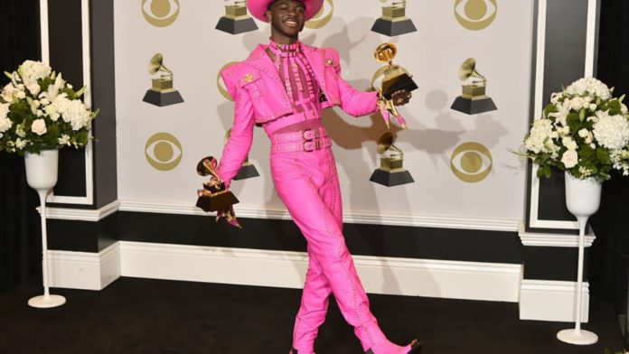 Pink bellhop new outfit to grammys 2020 tyler the best creator for wears