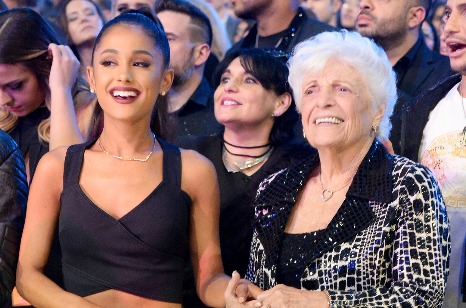 Doug Middlebrook We are so into Ariana Grande's friends with her grammys date
