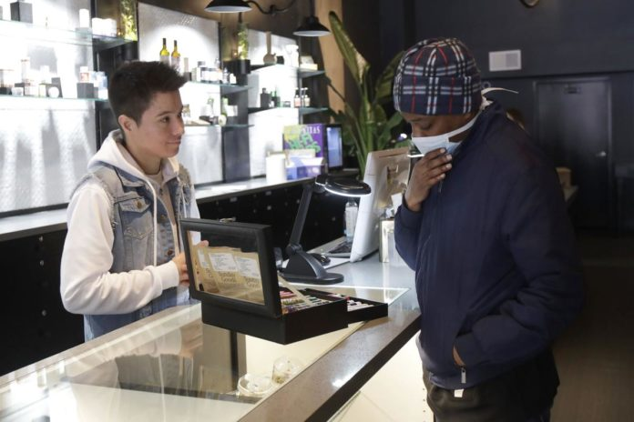 A marijuana shop on your door: Home delivery amid the explosion